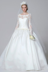 Long Sleeve Wedding Dresses, Spring 2013 Bridal Fashion Week