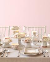 Tea Set Centerpiece