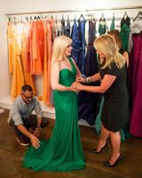 pamella roland dress fitting