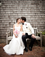 A Pink-and-Gray Destination Wedding in Nantucket, Massachusetts