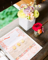 Scrapbook-Style Guest Book
