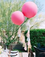 decor alternatives oversized tasseled balloons