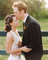 A Colorful Rustic Destination Wedding in Maine