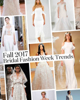 Fall 2017 Wedding Dress Trends