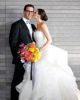 Hanna and Bret's Colorful Seattle Wedding