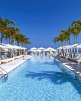 south beach hotel pool lounge