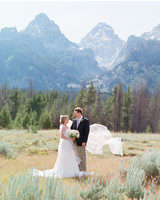 An Intimate Wedding in a Historic Chapel in Jackson Hole, Wyoming
