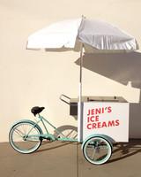 I Scream, You Scream, We All Scream for Ice Cream Carts at Weddings