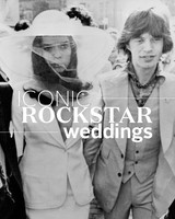 The Most Iconic Rock Star Wedding Photos