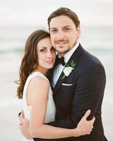 A Modern Florida Beach Wedding