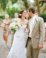 A Romantic, Rustic Wedding at a Winery in California