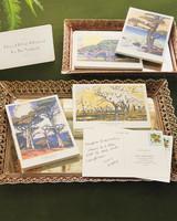 Woodcut Guest Postcards