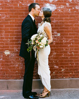 An Intimate Vintage Wedding in New York City
