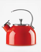 kate spade new york red tea kettle