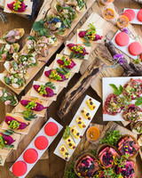 14 Delicious Food Bars for Your Wedding