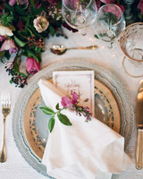 wedding plates dishes