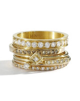 blanca monrs gmez gold stackable diamond rings