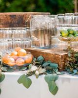 bowls of citrus fruits