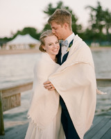 izzy tom wedding couple