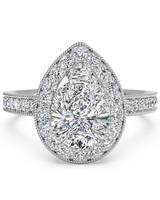 Ritani Pear-Cut Engagement Ring