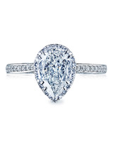 Tacori Pear-Cut Engagement Ring