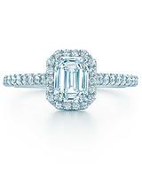 Tiffany & Co. Emerald-Cut Engagement Ring