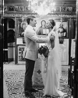 Ana and Alden's Chic Greek Wedding