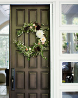 britt courtney wedding wreath