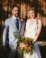 A Rustic, Easygoing Wedding in the Catskills
