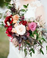 lush wedding bouquet