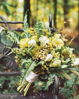 Wild Yellow Wedding Bouquet