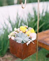 Ceremony Aisle Flower Box