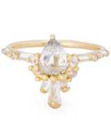 Polly Wales Pear-Cut Engagement Ring