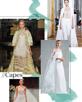 Fall 2017 Wedding Dress Trend: Capes