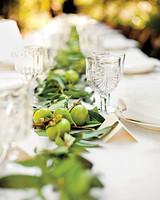 Fruit Garland Wedding Centerpiece