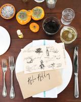 Illustrated Table Settings