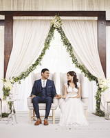 Sejal and Narayana's Understated Indian Wedding