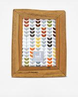 cork glass wood frame