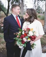 A Preppy, Plaid Winter Wedding in Oklahoma