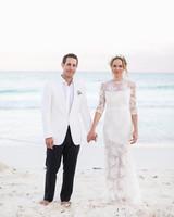 Olivia and Keith's Dia de los Muertos Beach Wedding