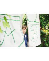Guest Book Canvases with Initials