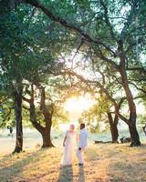 An Indian-Italian Hybrid Wedding in Sonoma