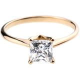 Bario Neal Princess Cut Engagement Ring