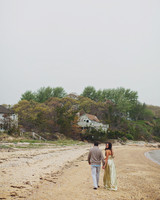 Casey and Ross's Mexican-Themed Prewedding Fiesta on Montauk's Navy Beach