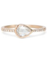 Gillian Conroy Pear-Cut Engagement Ring