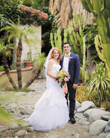 Katie Leclerc and Brian Habecost's Fun Palm Springs Wedding