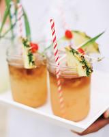 tropical signature cocktails