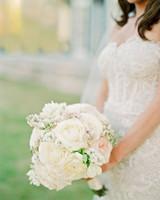 stefanie drew wedding bouquet