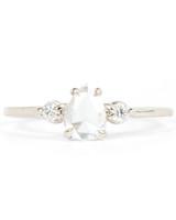 Catbird Pear-Cut Engagement Ring