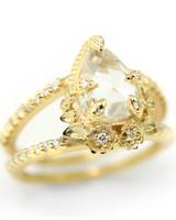 Megan Thorne Pear-Cut Engagement Ring